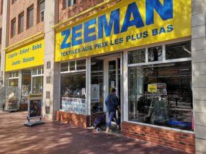 Le discounter Zeeman se déploie